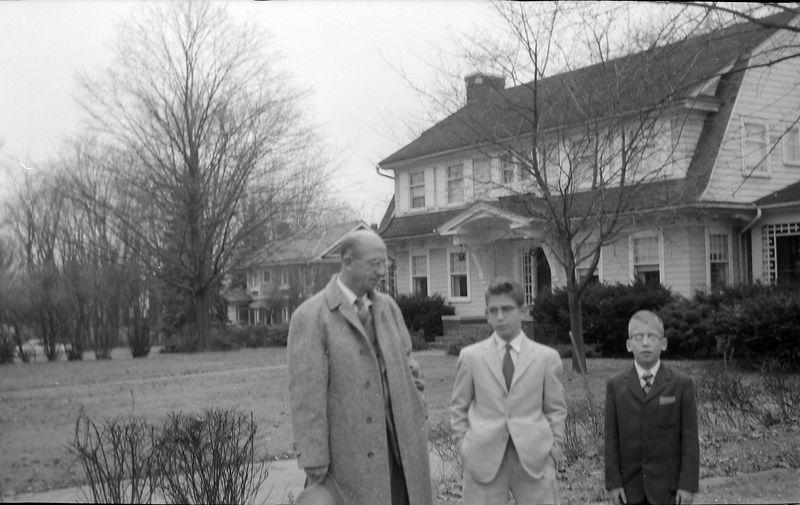#114 Rowland&Malcolm&Kenyon Stebbins 1710 MRD looking west Dec'57