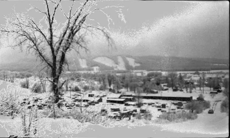 #152 View from Farm of Boyne Mt 1 March'58