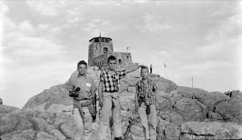 #90 Win-Mal-Ken Stebbins Harney Peak S Dak 25 Aug'57