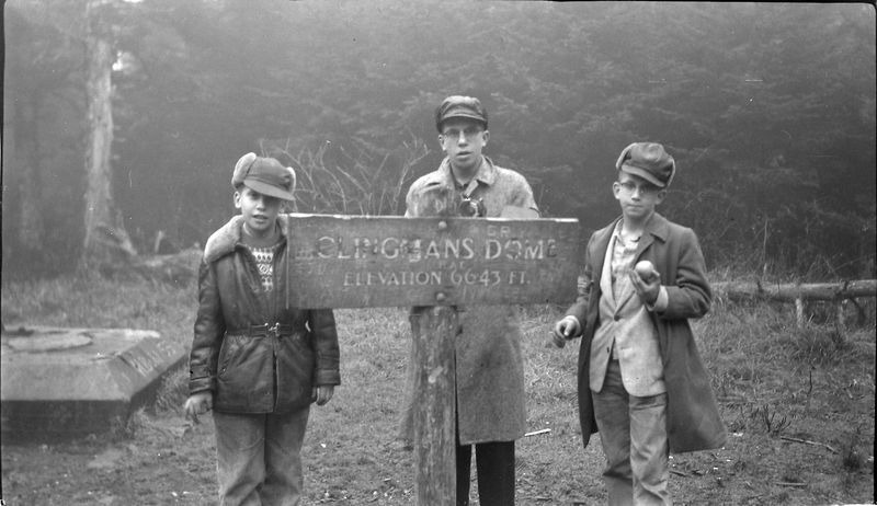 #28 Ken-Win-Mal Stebbins Clingman's dome Tenn 20-Dec'56