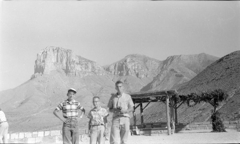#230 Winston-Malcolm-Kenyon Stebbins Guadalupe Peak TX 25 June'58