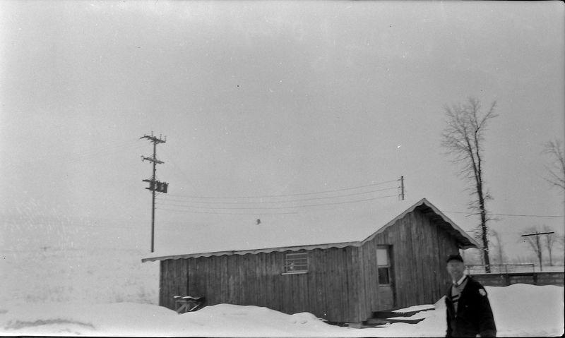 #151 Rowland Stebbins Original Building of Otsego Ski Club 2 March'58