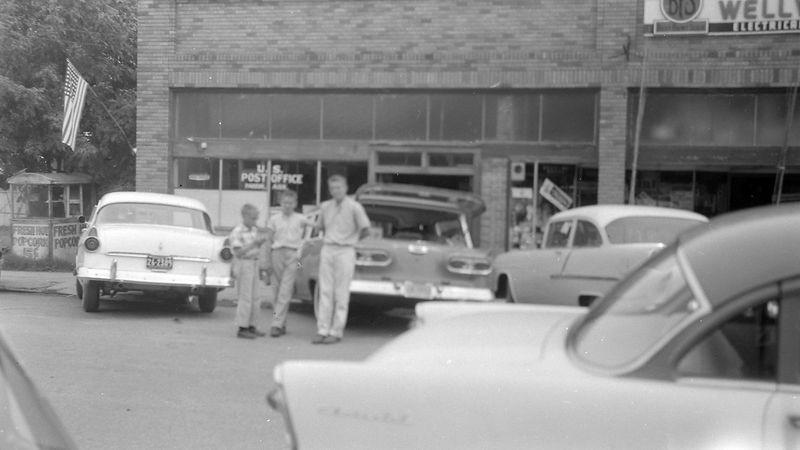 #209 Winston-Malcolm-Kenyon Stebbins Parkin Ark 20 June'58