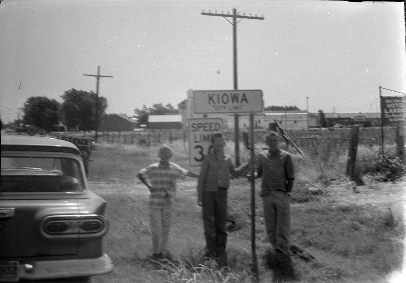 #43 Winston-Malcolm-Kenyon Stebbins Kiowa Kansas 1 July'58