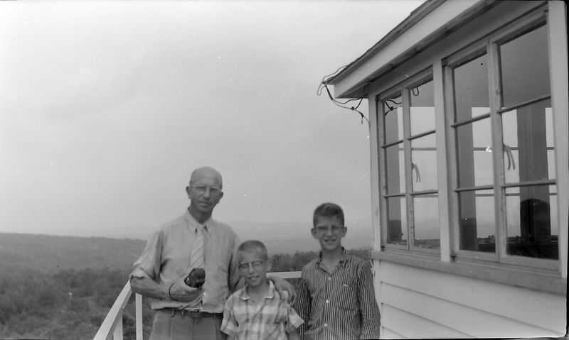#50 Rowland-Kenyon-Malcolm Stebbins Taum Sauk Tower 2 July'58