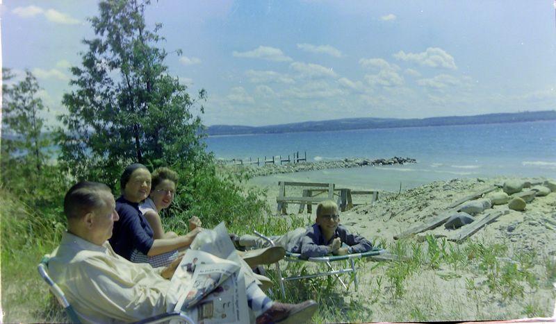 #64 Stowell-Annette-Jackie-Kenyon Stebbins  Roaring Brook 29 July'58
