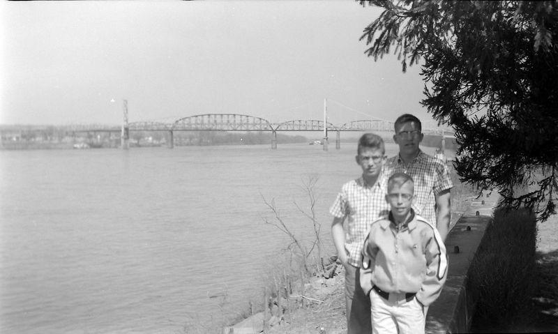 #131 Winston-Malcolm-Kenyon Stebbins Kanahwa & Ohio Rivers March'59