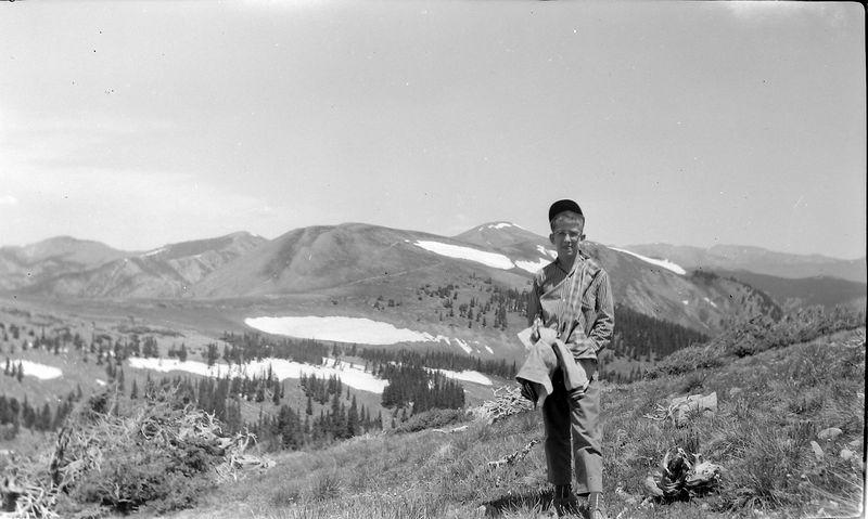 #24 Malcolm Stebbins Wheeler Peak N Mex 29 June'58