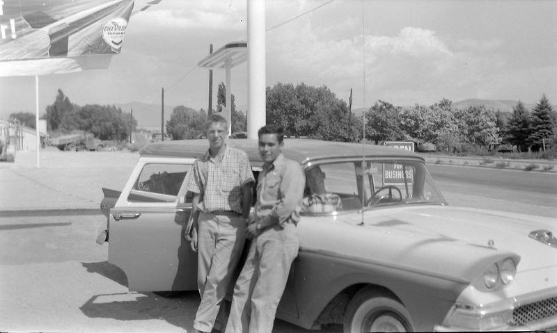 #15 Winston Stebbins & Egal Scout at Espanola N Mex 27 June'58