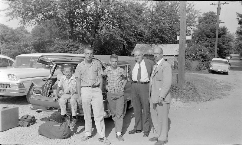 #152 Orville Crowder & Kenyon-Winston-Malcolm-Rowland Stebbins Harpers Ferry Va 4 July'59