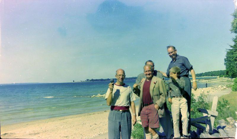 #69 Rowland&Francis&Stowell&Kenyon&Cortland Stebbins Roaring Brook 29 July'58
