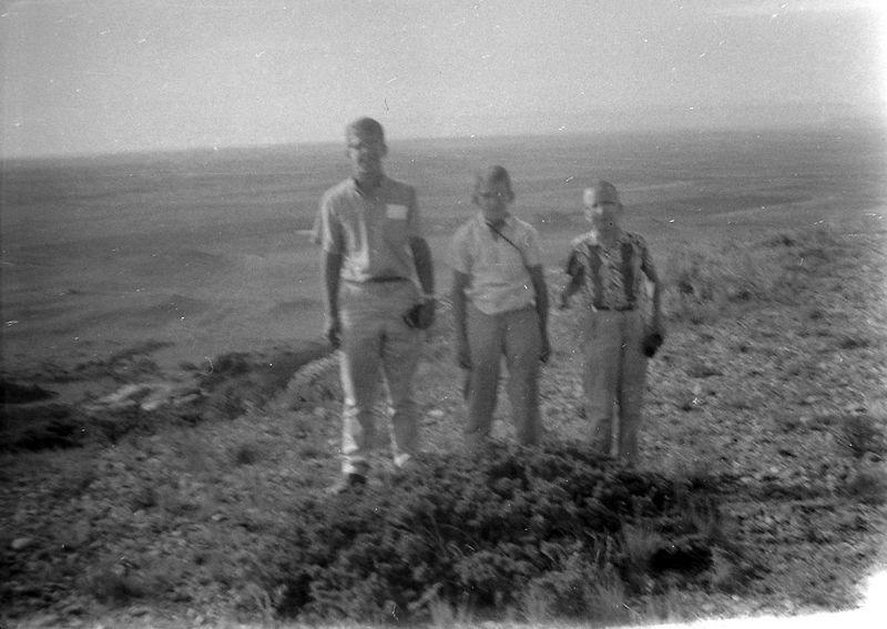 #31 Winston-Malcolm-Kenyon Stebbins Black Mesa 30 June'58