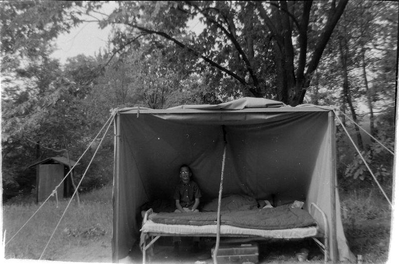 #129 Kenyon Stebbins at Camp Kiroliex Summer'59