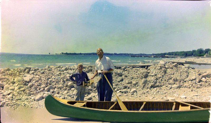 #65 Kenyon & Rowland Stebbins Roaring Brook MI 29 July'58