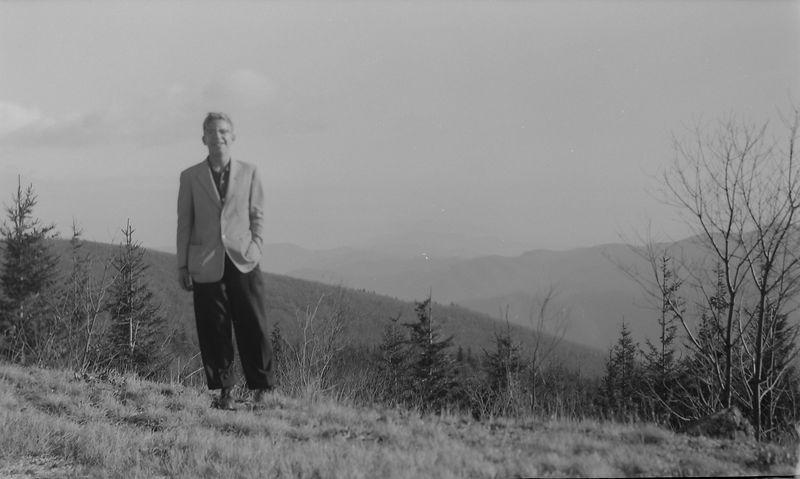 #3 Winston Stebbins on Mt Mitchell Trip 16 Dec'56