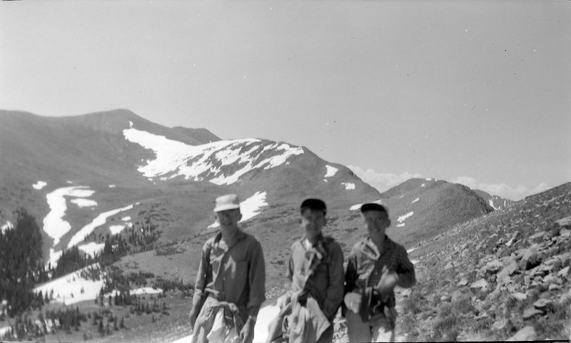 #23 Winston-Malcolm-Kenyon Stebbins Wheeler Peak N Mex 29 June'58