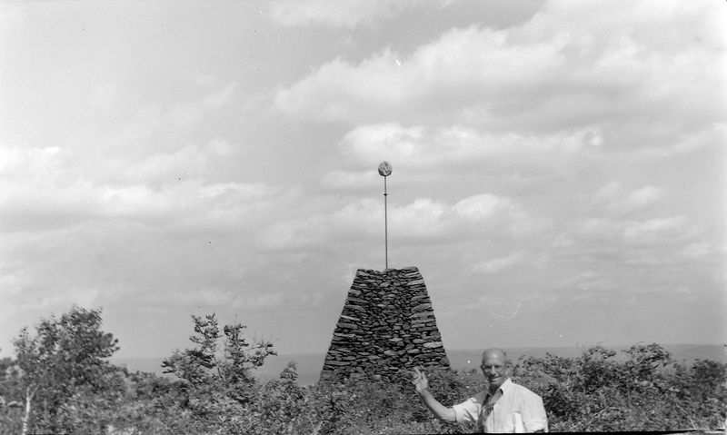#155 Rowland Stebbins Conn highpoint 7 July'59