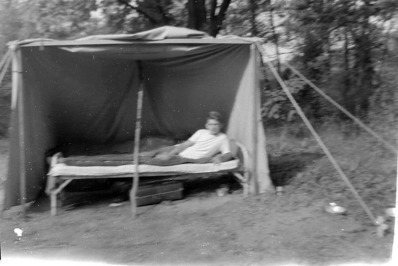 #128 Malcolm Stebbins at Camp Kiroliex Summer'59