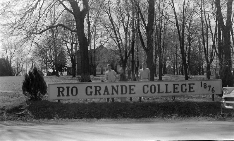 #133 Winston-Malcolm-Kenyon Stebbins Rio Grand College in Ohio March'59