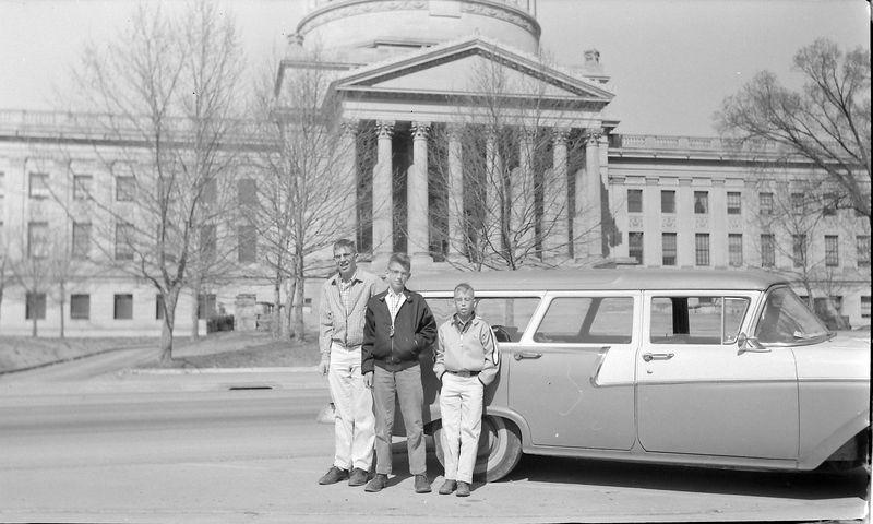 #135 Winston-Malcolm-Kenyon Stebbins Charlestown W Va March'59