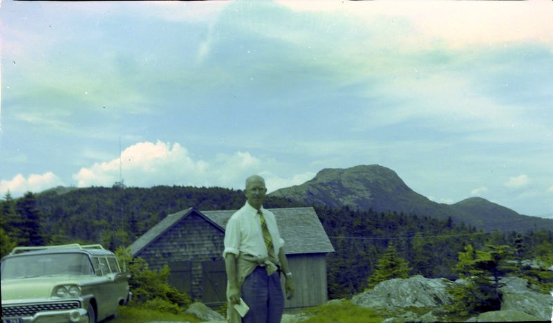 #187 Rowland Stebbins Mt Mansfield NH 14 July'59