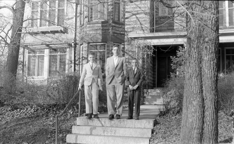 #88 Winston-Malcolm-Kenyon Stebbins Crotti house Columbus Ohio Dec'58