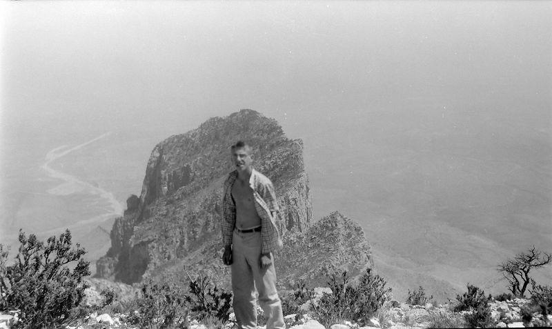#13 Winston Stebbins El Capitan - Guadalupe Peak TX 25 June'58