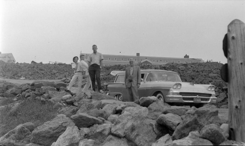 #180 Winston-Malcolm-Kenyon Stebbins & Dave Bishop Mt Washington NH 12 July'59