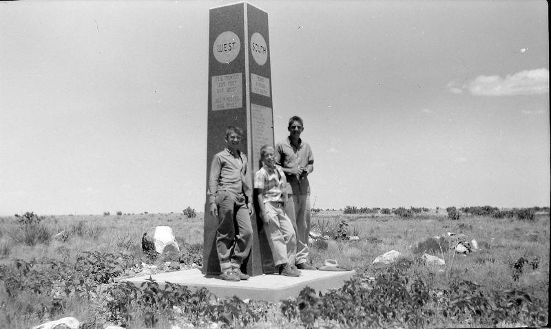 #35 Winston-Malcolm-Kenyon Stebbins Black Mesa Okla  30 June'58