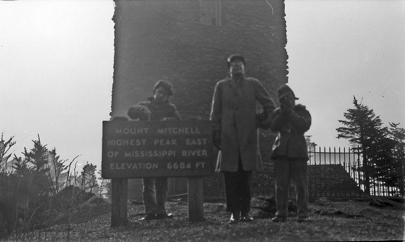 #6 Winston-Malcolm-Kenyon Stebbins Mt Mitchell 16 Dec'56
