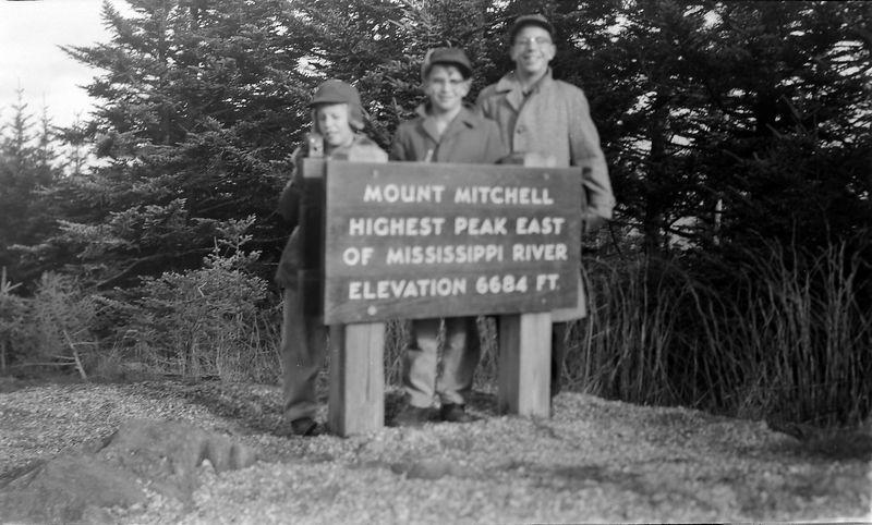 #1 Winston-Malcolm-Kenyon Stebbins Mt Mitchell N Carolina 16 Dec'56