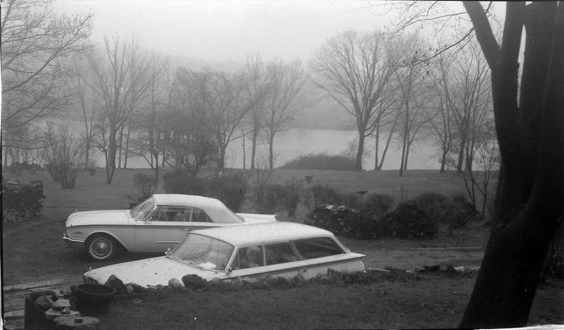 #149 backyard 1710 Moores RIver Drive Lansing Spring'61
