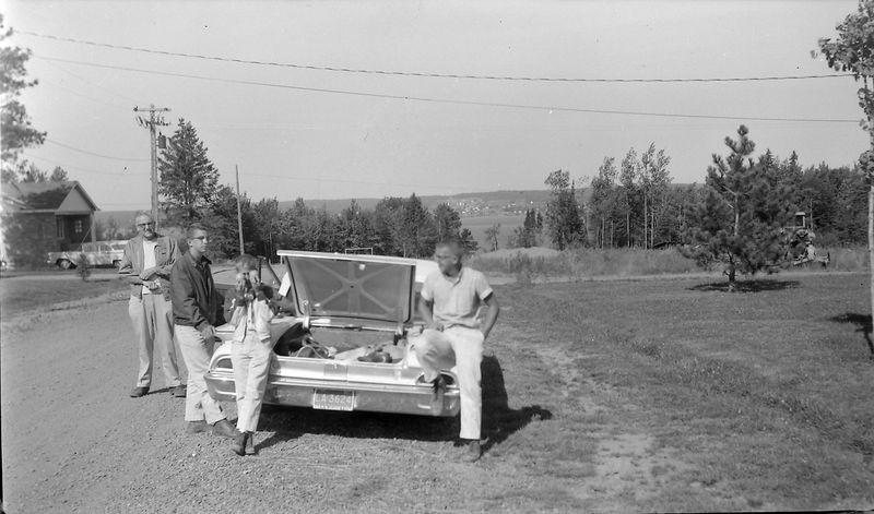 #93  Winston-Kenyon-Rowland Stebbins & Dave Bishop L'Anse Mich 16 Aug'60