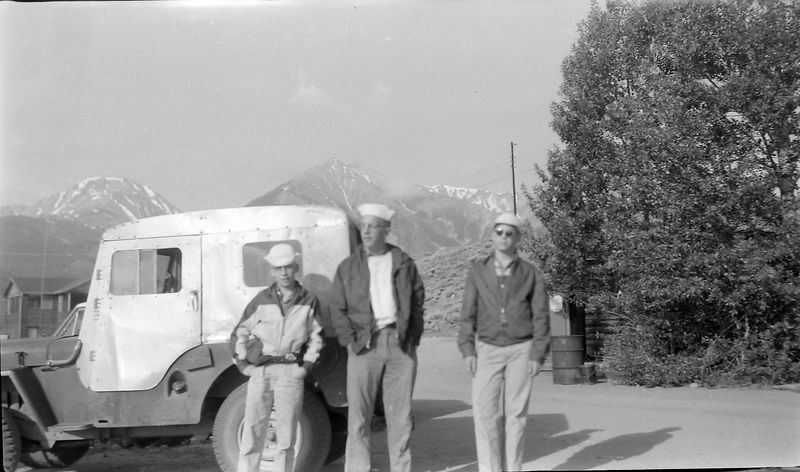 #44 Winston-Malcolm-Kenyon Stebbins Mt Elbert Colo 5 July'60