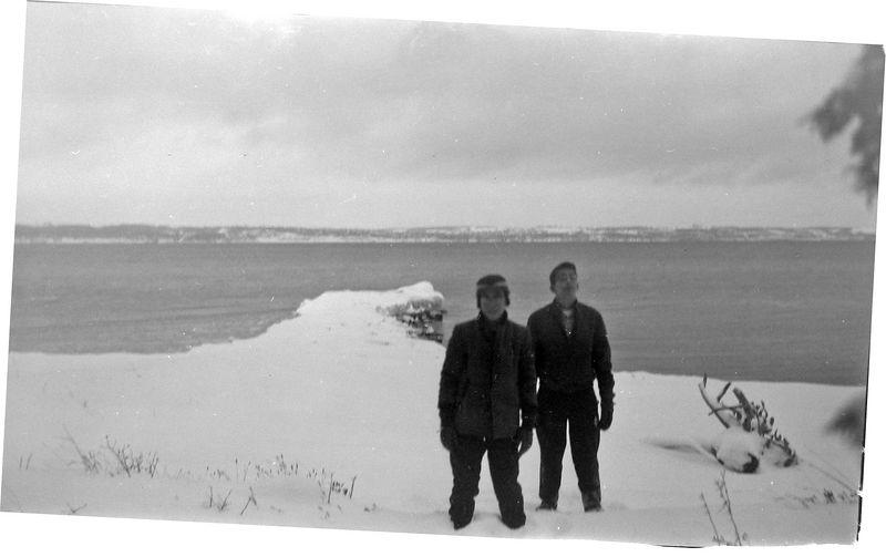 #115 Kenyon & Malcolm Stebbins Roaring Brook 31 Dec'60