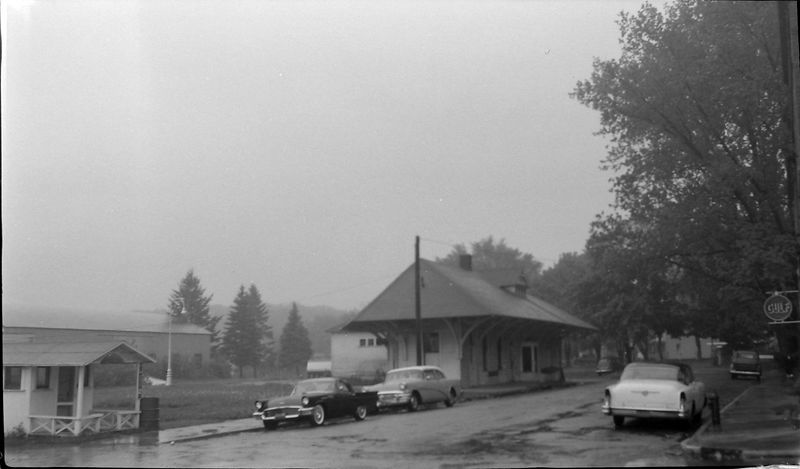 #7 Harbor Springs RR Depot for sale May'60