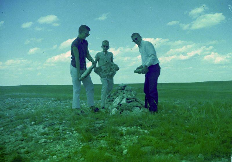 #70 Winston-Malcolm-Kenyon Stebbins highpoint Nebraska 13 July'60