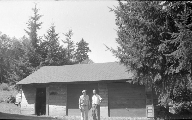 #209 Rowland Stebbins & Francis Bergoyne Bay Lake Washington13 July'61