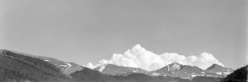 #39 Mostly Sky- Colorado July'60