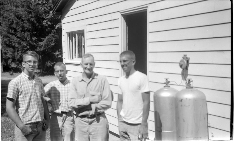 #205 Winston-Malcolm-Kenyon Stebbins & Francis Bergoyne Bay Lake Washington13 July'61
