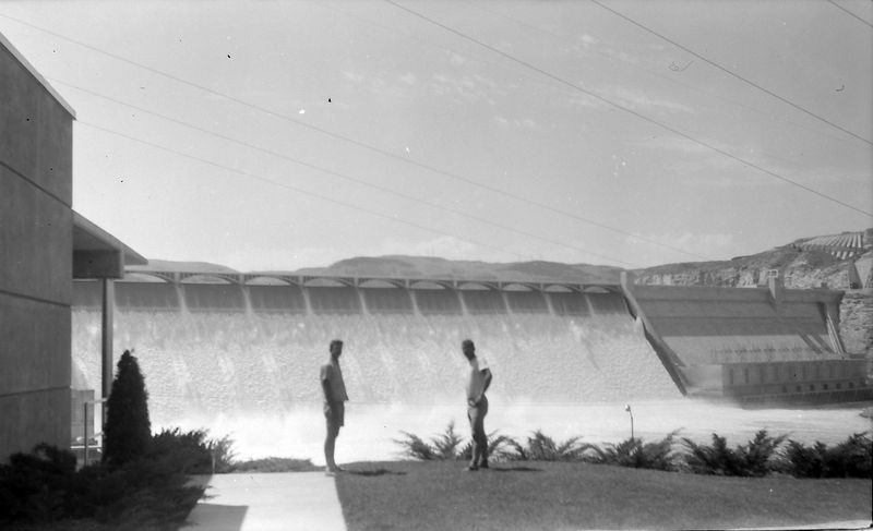 #215 Malcolm & Winston Stebbins Grand Coulee Dam Washington state 15 July'61