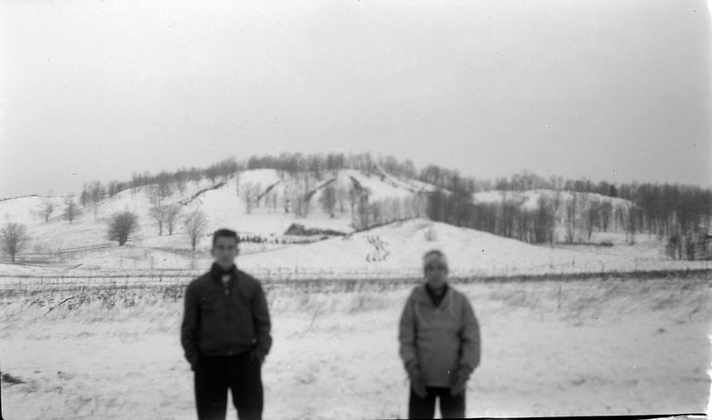 #113 Malcolm&Kenyon Stebbins Brar Hill Ski Area 30 Dec'60