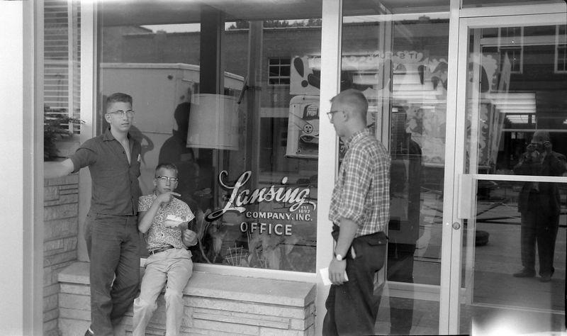 #29 Winston-Malcolm-Kenyon Stebbins Lansing Iowa PO 1 July'60