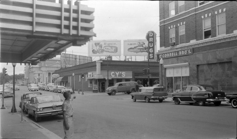 #159 Kenyon Stebbins in Webster City Iowa 22 June'61