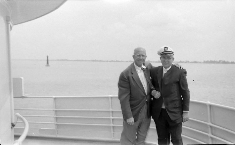 #10a Chamber of Commerce Cruise Rowland Stebbins & Jim Robinson 15 June'60