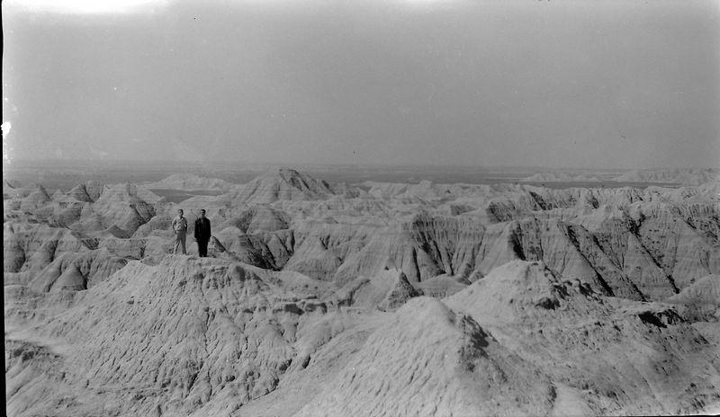 #161 maybe Kenyon & Malclm Stebbins Badlands S Dakota 25 June'61