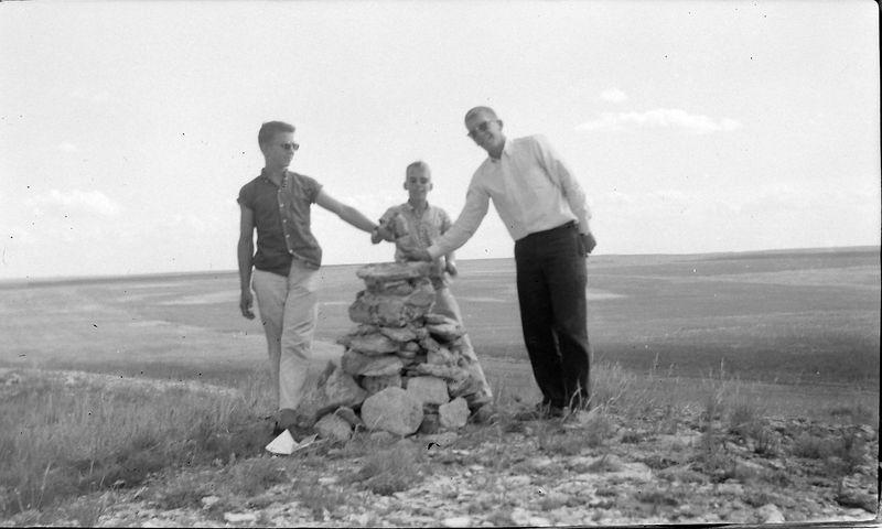 #71 Winston-Malcolm-Kenyon Stebbins highpoint Nebraska 13 July'60