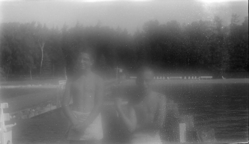 #153 Malcolm & Kenyon Stebbins Roaring Brook Spring'61