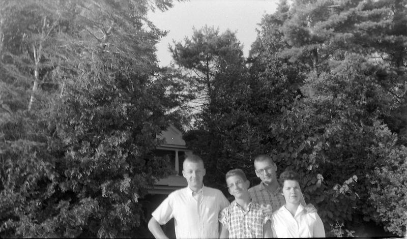 #89 Herb Steely & Malcolm Stebbins & Perrin McGee & Ann Carol Buckles Roaring Brook 1 Aug'60