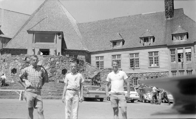 #201 Winston-Malcolm-Kenyon Stebbins Timberline Lodge  at Mt Hood 10 July'61